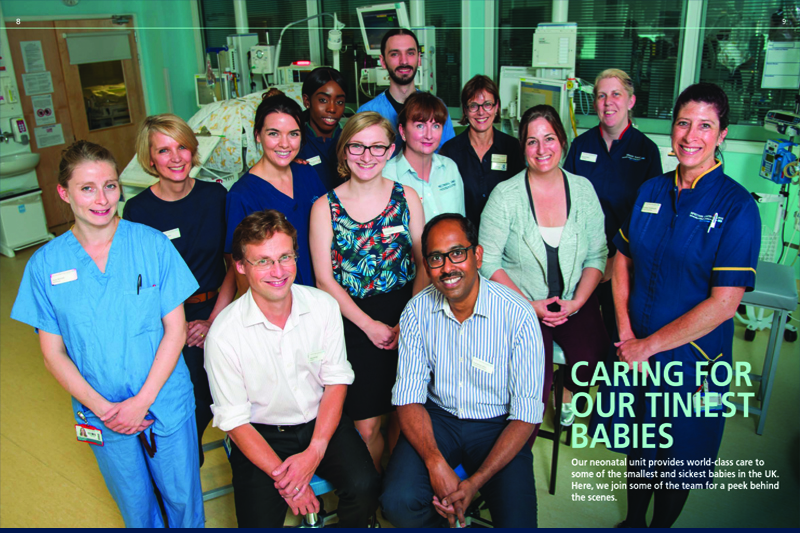 Picture of the team at UCLH